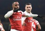 """""""Arsenal"""" užtikrintai nugalėjo vos 1 smūgį į vartų plotą atlikusius """"Chelsea"""" futbolininkus"""