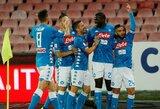 """""""Napoli"""" nepaliko šansų """"Empoli"""" futbolininkams"""