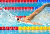 Plaukikas K.Skučas Londono parolimpinėse žaidynėse liko per žingsnį nuo finalo