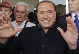 """S.Berlusconi: """"Kitą sezoną """"Milan"""" gali kovoti dėl """"Serie A"""" titulo"""""""