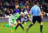 """""""Real Betis"""" ir """"Valladolid"""" išsiskyrė taikiai"""