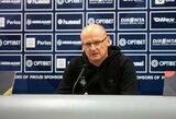 """V.Urbonas: """"Mūsų laukia įnirtingos rungtynės ir stiprus varžovas"""""""