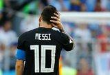 """Izraelio gynybos ministras: """"L.Messi neįmušė 11 metrų baudinio, nes Argentina atšaukė draugiškas rungtynes su Izraeliu"""""""