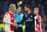 Ketvirtadienį paaiškės, kokios bausmės Čempionų lygoje sulauks S.Ramosas
