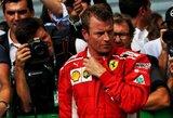 """""""Formulės 1"""" fanų peticija, siekiant išlaikyti K.Raikkoneną """"Ferrari"""" gretose, sulaukė didelio populiarumo"""