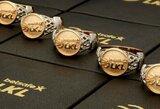 LKL čempionams – išskirtinio dizaino aukso žiedai