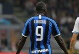 """""""Inter"""" turės kovoti su """"Barcelona"""" be traumą patyrusio R.Lukaku"""