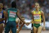 Bėgikė E.Balčiūnaitė pasaulio čempionatą baigė dar vienu sezono rekordu (papildyta)