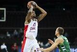 Madride 20 taškų pirmavusi CSKA išsivežė pergalę