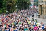 Maratone Vilniuje dėl taurės pirmą kartą varžysis ir bėgikų komandos