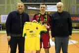 """J.Zagurskui – naudingiausio """"Betsafe Futsal A lygos"""" žaidėjo apdovanojimas"""