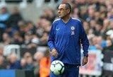 """""""Chelsea"""" žaidėjai laukia permainų: kiek laiko dar turi situacijos nevaldantis M.Sarri?"""