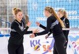 Dvi lietuvių poros – Europos sniego tinklinio čempionato pusfinaliuose (papildyta)