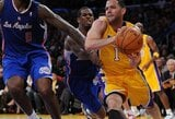 """Gera naujiena """"Lakers"""" – J.Farmaras grįžo į rikiuotę"""