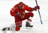 Rusijos ledo ritulininkai užsitikrino mažiausiai antrą vietą pasaulio čempionato grupėje