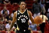 """11 taškų deficitą panaikinę """"Raptors"""" nuginklavo """"Heat"""""""