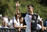 """Antausis C.Ronaldo: """"Juventus"""" komandoje geriausias – P.Dybala?"""