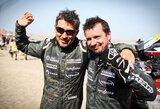 """A.Juknevičius įvertino savo 10-ą Dakarą: """"Mums tai – viena sunkiausių patirčių"""""""