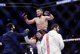 C.Nurmagomedovas pradėjo derybas su UFC dėl kitos kovos ir žada ginti diržą anksčiau, nei tikėtasi
