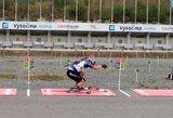 Pasaulio vasaros biatlono čempionate visi lietuviai pateko į persekiojimo lenktynes