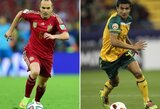 Kova dėl garbės: Australija – Ispanija