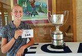 Lietuvos rinktinės narė atstovauja šaliai Europos moterų mėgėjų golfo čempionate