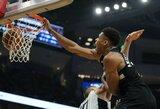 """""""Bucks"""" nepaliko vilčių """"Clippers"""" žvaigždynui"""