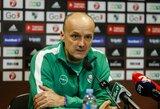 """J.Zdovcas: """"Mūsų tikslas sutrukdyti """"Bayern"""" laimėti"""""""