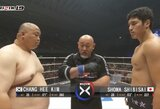 """""""Rizin 19"""": japono pergalė prieš 56 kg sunkesnį varžovą ir nokautų pirmajame raunde šou"""