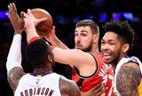 J.Valančiūno dvigubas dublis ir per aukštaūgį įkrovęs NBA naujokas