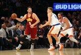 M.Kuzminskas dar kartą pajuto NBA čempionų jėgą