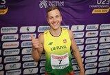 Rekordą pasiekusiam dešimtkovininkui E.Benkunskui – olimpinio čempiono iš Estijos pagalba