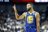 """S.Kerras: """"Curry dabar yra savo karjeros pike"""""""