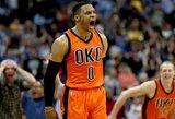 """B.Griffinas: """"MVP turi laimėti R.Westbrookas"""""""