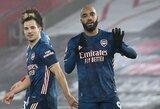 """""""Arsenal"""" išvykoje užtikrintai susitvarkė su """"Southampton"""" futbolininkais"""