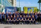 Lietuvos futbolo specialistai mokėsi iš buvusio Vokietijos rinktinės trenerio