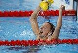 Pirmąją pasaulio plaukimo čempionato dieną – S.Sjostrom planetos rekordas (+ visi prizininkai)