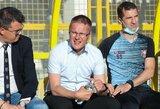 V.Dambrauskas išrinktas geriausiu Kroatijos lygos mėnesio treneriu