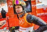 A.Drukarovas pasaulio kalnų slidinėjimo čempionate pasiekė geriausią karjeros rezultatą