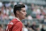 """J.Rodriguezo ateitis ir toliau neaiški: """"Atletico"""" patvirtino nevedantys jokių derybų"""