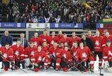 Paskelbtas Lietuvos vyrų ledo ritulio rinktinės kandidatų sąrašas turnyrui Latvijoje