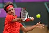 R.Federeris iškopė į olimpinio teniso turnyro ketvirtfinalį