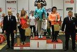 T.Sutkus ir M.Brūverė Europos jaunių ir jaunimo jėgos trikovės čempionate iškovojo mažuosius medalius