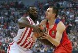 CSKA neatlaikė Belgrado karščio