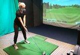 """Lietuvos golfo lyderė: """"Didžiąją dalį sėkmės lemia sunkus darbas"""""""
