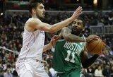 "G.Monroe debiutą ""Celtics"" pažymėjo pergale po pratęsimo"
