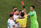 Argentinos rinktinė reikalauja panaikinti L.Messi parodytą raudoną kortelę