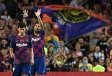 """Grubiai klydusius """"Arsenal"""" įveikusi """"Barcelona"""" septintą kartą iš eilės iškovojo Joano Gamperio taurę"""