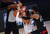 NBA nubaudė prieš L.Dončičių grubiai žaidusį puolėją