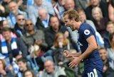 """Anglijoje - eilinis H.Kane'o šou ir lengva """"Tottenham"""" pergalė"""